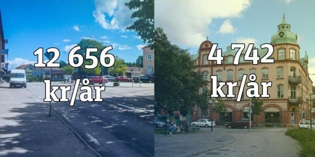 İsveç'te elektriğin en pahalı ve en ucuz olduğu bölgeler