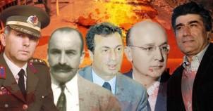 Türkiye'yi sarsan suikastler