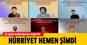 28 Şubat mahkumlarına özgürlük