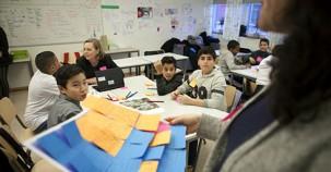 İsveç'te çocuk mimarlar iş başında