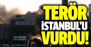 İstanbul'da bombalı hain saldırı!