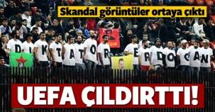 UEFA'dan skandal karar! O görüntüler ortaya çıktı