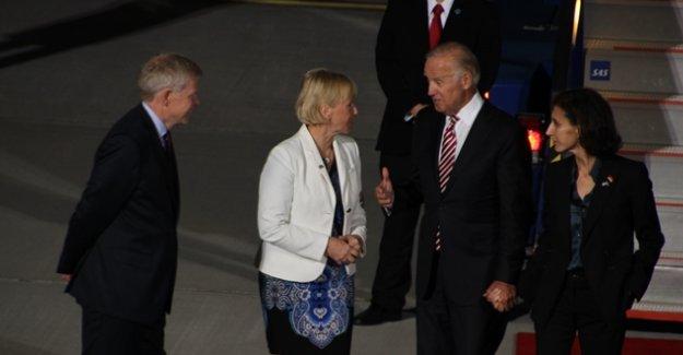 ABD Başkan Yardımcısı Joe Biden İsveç'te