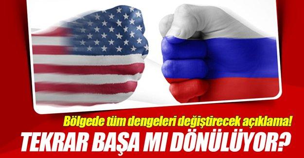 ABD, Rusya ile Suriye kapsamındaki ikili anlaşmaları durdurabilir!