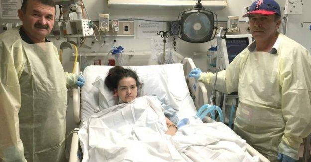 ABD'de Organ Nakli Olan Yeşim Çetir Yürütülmeye Başlandı