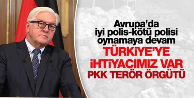Almanya Dışişleri Bakanı: Türkiye'ye ihtiyacımız var