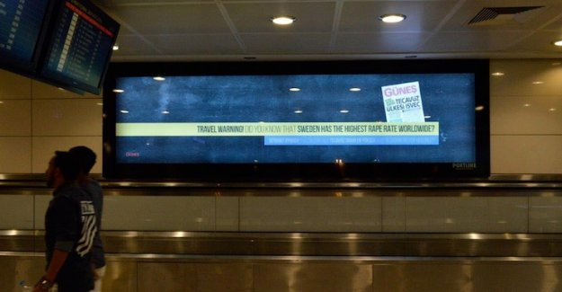 Atatürk Havalimanı'nda yolculara İsveç tecavüz ülkesi uyarısı!