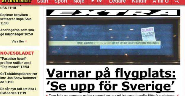 """Atatürk Havalimanı'ndaki """"İsveç uyarısı"""" İsveç basınında"""