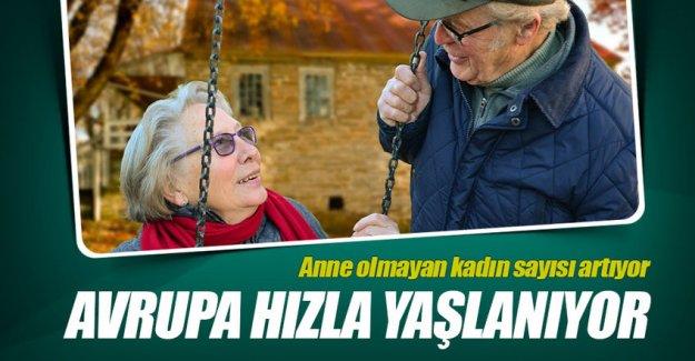 Avrupa hızla yaşlanıyor