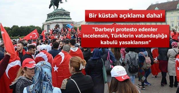 Avusturya'da darbe karşıtı Türklere baskı artıyor!