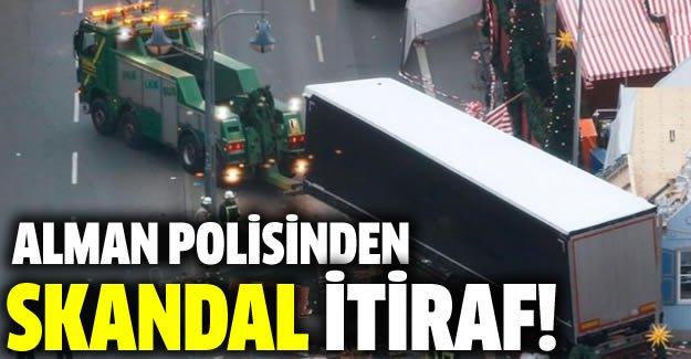 Berlin'deki terör saldırısında skandal itiraf!