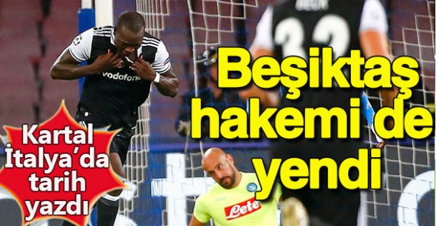 Beşiktaş Napoli deplasmanında kazandı
