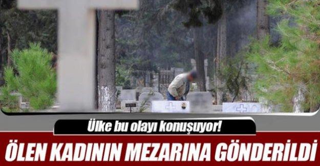 Bir sene öce ölen kadının mezarına vergi borcu gönderildi