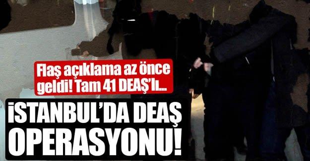 DEAŞ'a operasyon! 31 şüpheli yakalandı