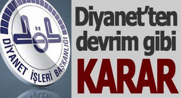 Diyanet'ten devrim gibi karar: Yurtdışındaki vatandaşlardan sözleşmeli imam alınacak