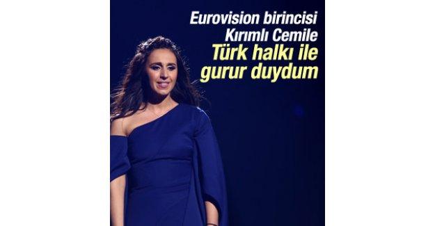 Eurovision birincisi Jamala'dan Türkiye'ye destek