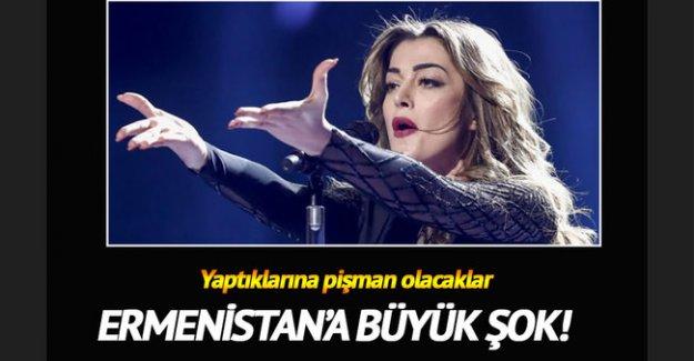 Eurovision, Ermenistan ekibinin cezasını kesti