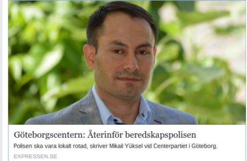 Göteborg'de artan çete sorununa kökten çözüm önerisi