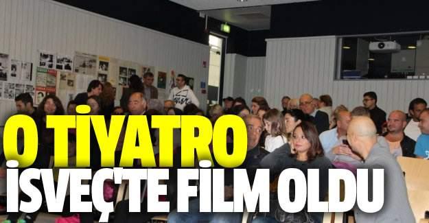 Gurbetçi çocukların 40 yıl önce oynadığı tiyatro İsveç'te film oldu