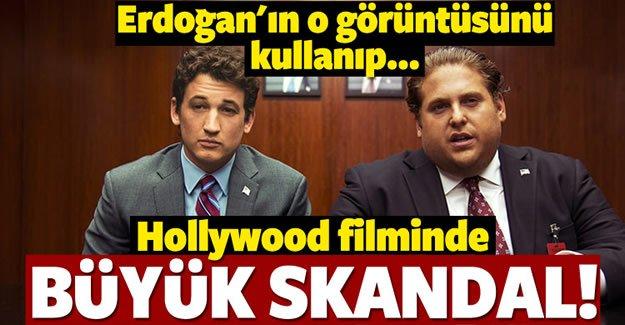 Hollywood filminde skandal görüntü