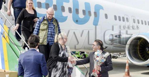 İskandinav turistin tercihi Alanya