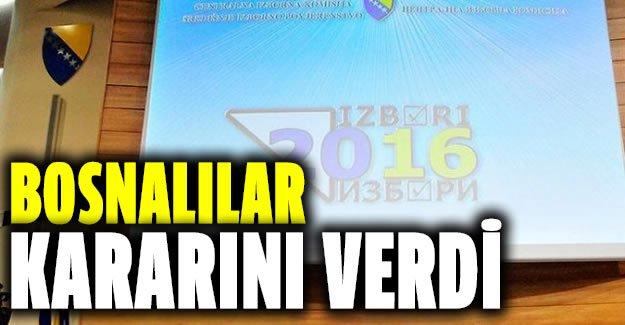 İşte Bosna Hersek'teki yerel seçim sonuçları