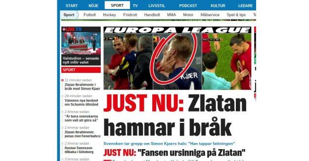 İsveç basını Fenerbahçe'nin gazibiyetine geniş yer ayırdı...