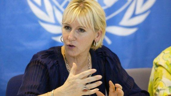 İsveç Dışişleri Bakanı Margot Wallström Türkiye konusunda geri adım attı