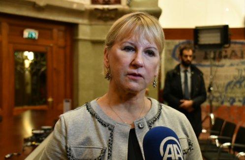 İsveç Dışişleri Bakanı'ndan ABD'nin vize yasağına sert tepki