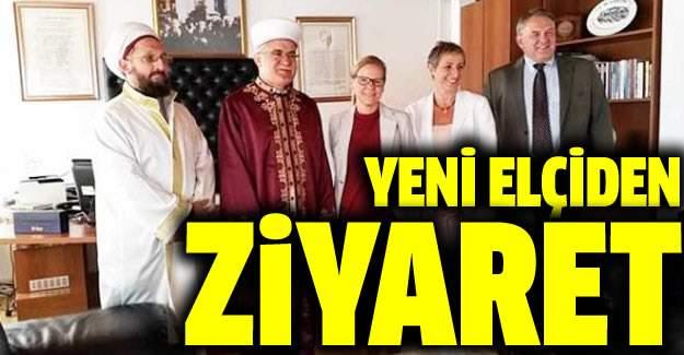 İsveç'in yeni elçisi Atalay'ı ziyaret etti