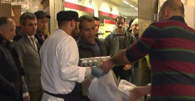 İsveç İslam Federasyonundan Sığınmacılara Yardım