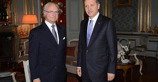 İsveç Kralı Gustav'dan, Erdoğan'a taziye telgrafı