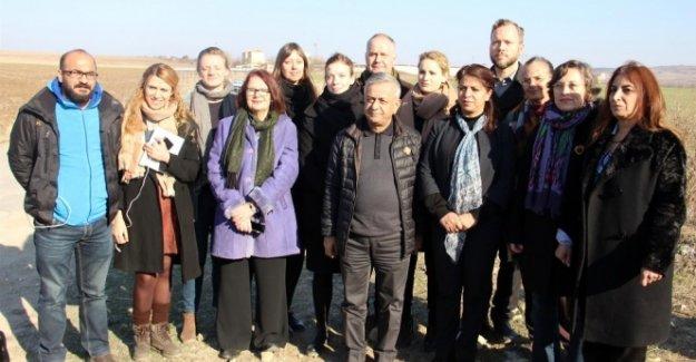 İsveç Sol Parti Başkanı Sjöstedt'in Demirtaş ziyareti