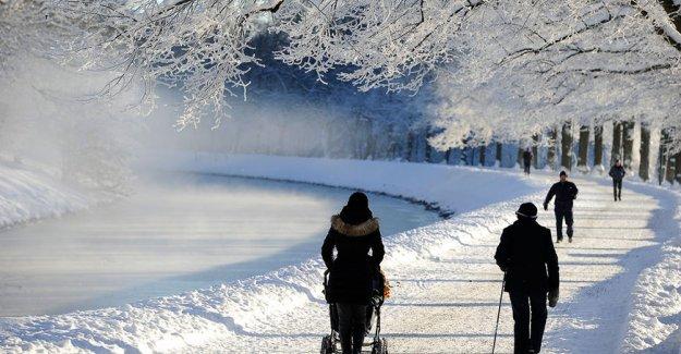 İsveç'te rekor soğuk: eksi 41,8