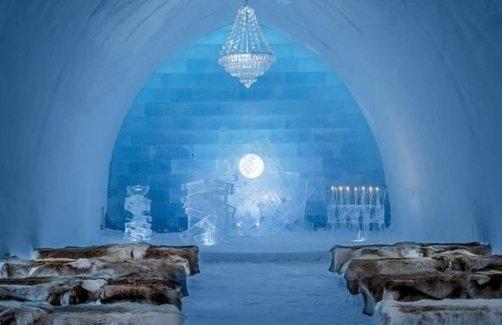 İsveç'teki bu otel her kış yeniden inşa ediliyor!