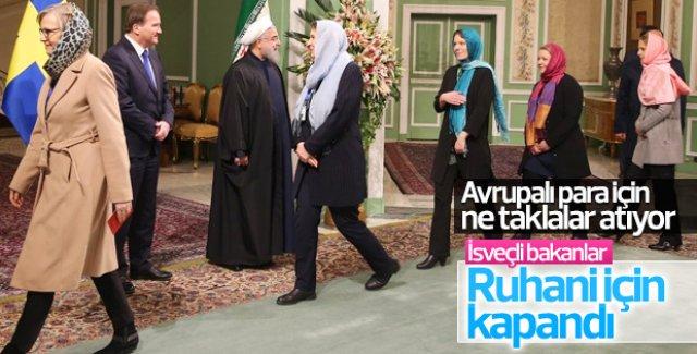 İsveçli kadın bakanların İran hassasiyeti