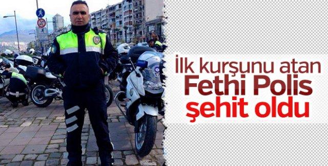 İzmir'deki terör saldırısında Fethi Sekin şehit oldu