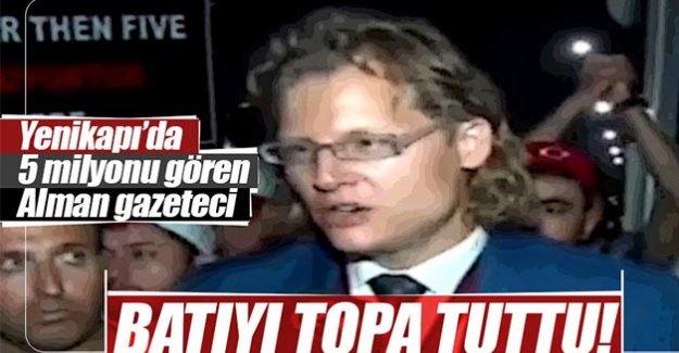 KEŞKE MERKEL'DE MİTİNGE KATILSAYDI