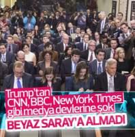 Beyaz Saray'dan medya devlerine ambargo