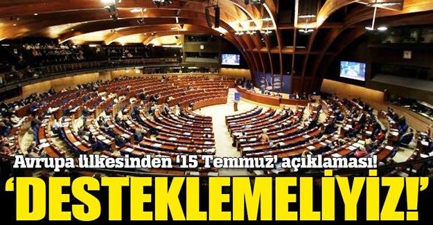 Litvanya: Türkiye'nin daha kararlı biçimde desteklenmesini istedi