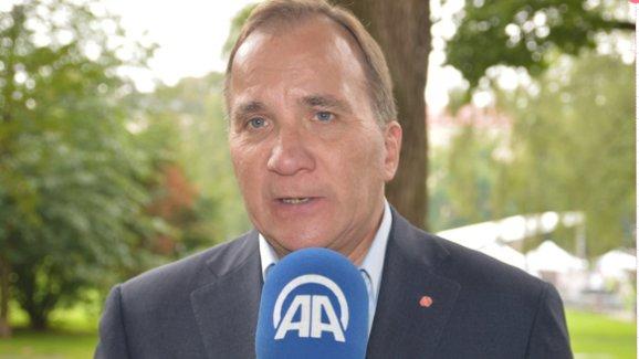 Löfven,'' Türk halkı demokrasiye sahip çıktı''