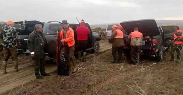 Macar Ve İsveçli Avcılar Türkiye'de 13 Yaban Domuzu Avladı