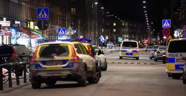 Malmö'de bir kişi öldürüldü...