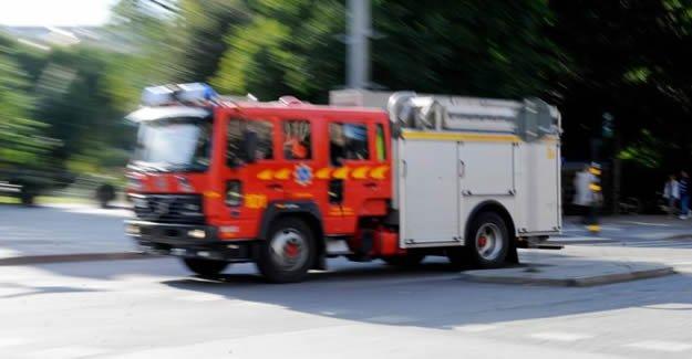 Malmö'de lüks otel'de yangın alarmı