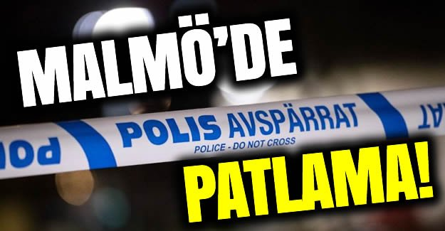 Malmö'de patlama