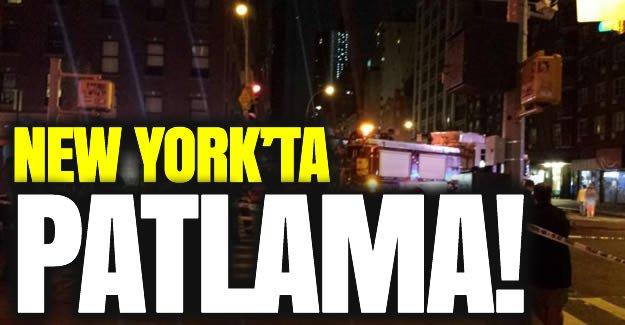 New York'ta patlama ortalık birbirine girdi!