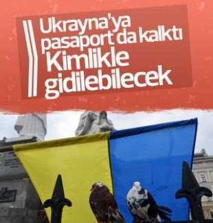 Bakan açıkladı: Ukrayna'ya kimlikle gidilebilecek