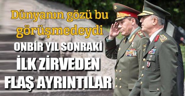 Rus general Türkiye'ye geldi Dünya'nın gözü Türkiye'ye döndü
