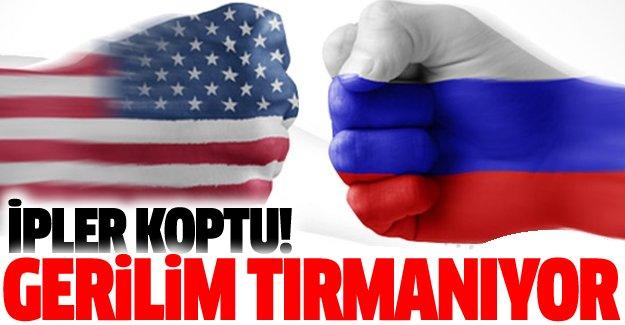 Rusya ile ABD arasında ipler koptu