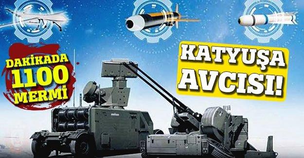 Sınırda Katyuşa'ya karşı: KORKUT